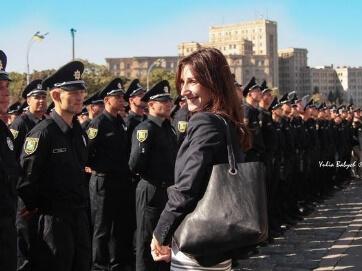 Українські поліцейські – як триває реформа. Інтерв'ю Згуладзе